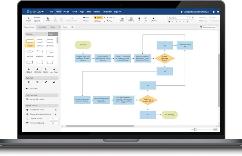 SmartDraw 27.0.0.2 Crack + License Key [Mac+Win] 2021