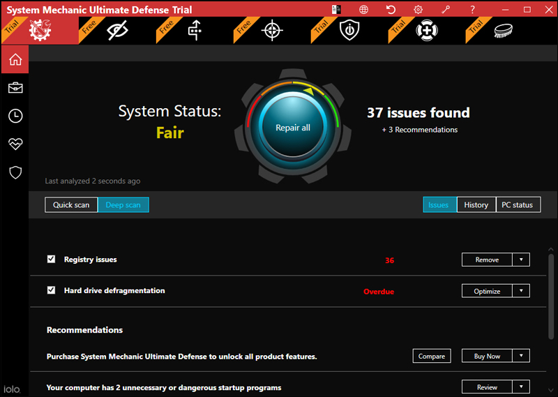 System Mechanic Ultimate Defence crack 21.0.1.46 Activation Key [Latest]