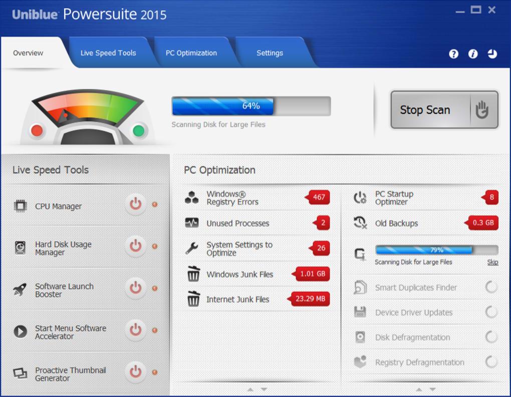 Uniblue PowerSuite Crack 2021 & Serial Key Free Download