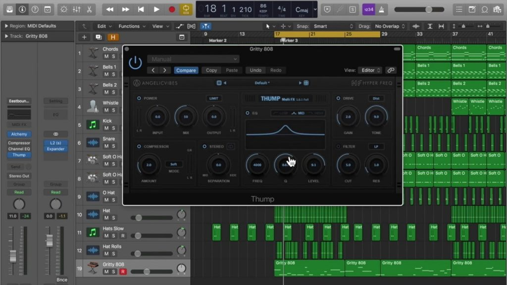 AngelicVibes Thump Multi Effects v 5.3.3 Crack Mac [Latest] 2021