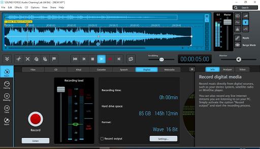 Magix Sound Forge Audio Cleaning Lab v25.0.1.23 Crack [Full Latest] 2021