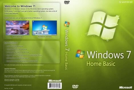 Windows 7 Home Basic Crack With Product Key [32/64-bit]